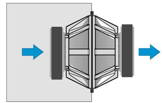 Isobaric enclosure